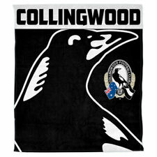 AFL Polar Fleece Rug Collingwood Magpies