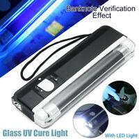 UV Cure Lamp Ultraviolet LED Light For Car Glass Windshield Crack Repair Tool