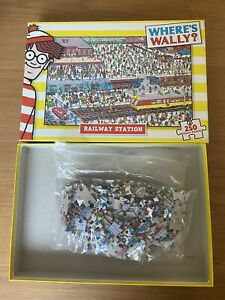 Where's Wally? Railway Station 250 Piece Puzzle