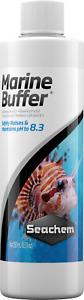 Seachem Liquid Marine Buffer 500ml Safely Raises PH To 8.3 in Marine - Reef Tank