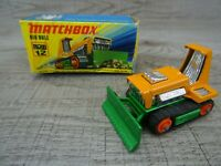 Vintage Lesney 1975 Big Bull No 12 Matchbox Superfast Diecast Toy Car Boxed