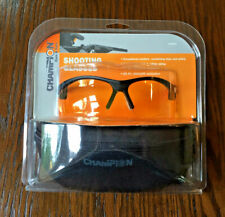 Champion Open Frame Ballistic Shooting Glasses 40604 w/Case – New, Free Shipping