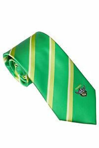 NRL Canberra Raiders Tie Microfibre embroided logo FREE SHIPPING
