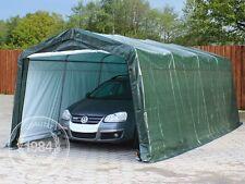 Garagenzelt 3,3x6,2x2,4 m Zelt Foliengarage Carport Lagerzelt Weidezelt grün