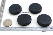 "24 Rubber Plugs -  Grommets Without Hole - Solid Grommet 1 1/8"" Diameter"