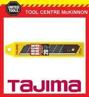 20 x TAJIMA ROCK HARD 25mm SNAP OFF UTILITY KNIFE BLADES – LCB65-20