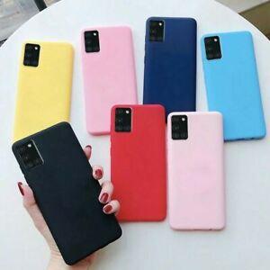 For Samsung Galaxy A71 A21s A51 A50 A10 A40 A11 TPU Silicone Rubber Phone Case