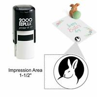 Black Ink C-647 Middle Finger Cosco Round Self Inking Rubber Stamp