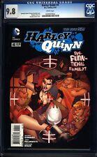 Harley Quinn 4 CGC 9.8 WP Modern Age DC Comic (2014) IGKC L@@K