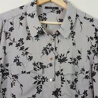 [ BASQUE ] Womens Floral Print Blouse Top  | Size AU 14 or US 10