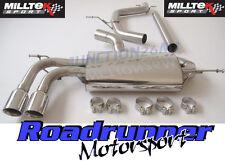 Milltek GOLF MK5 2.0 TDI 140PS Exhaust Cat Back NonRes Edition 30 Style SSXVW296