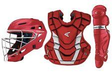 Easton Gametime Baseball Catchers Box Set 2021 -Adult 15+ - Red/Silver