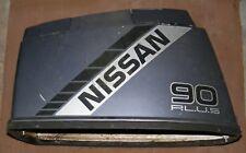 DQ1A9704 Nissan 90 HP NS90A Upper Motor Cover PN 3B7S67510-0 Fits Pre-2002
