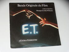 45 tours  - B.O FILM - E.T.  L'EXTRATERRESTRE - 1982 - J.WILLIAMS - S. PIELBERG