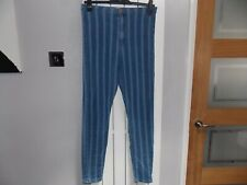 River Island skinny High waisted Jeans Jeggings Stretch Denim Size 12R.
