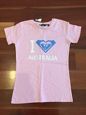 Women's ROXY Pink T-Shirt Size 10 BNWT