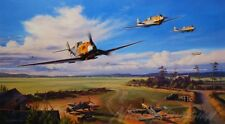 The Dragons Of Colombert by Nicolas Trudgian Me109 JG3