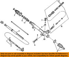 FORD OEM Steering Gear-Inner Tie Rod End 1F1Z3280AA