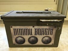 Dimmu Borgir Abrahadabra Deluxe Ammo Case Set 339/350 Rare Signed Black Metal