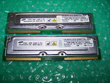 1GB IBM Samsung PC800-40 RIMM RAMBUS RDRAM TESTED (2x 512MB)