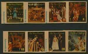 Equatorial Guinea MI A1044-51 MNH Queen Elizabeth Coronation