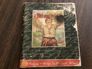 1937 SOUTH BEND Fishing Tackle Catalog, Lures-Tackle, Color