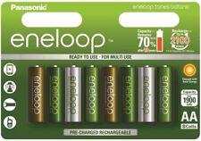 8 x Panasonic Eneloop Botanic AA battery 1900mAh Ni-MH rechargeable