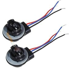2x 3156 3057 3157 3356 3456 3457 LED Bulb Signal Light Harness Socket Plug #SK05