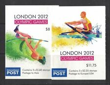 2012 Australia Olympic Games Booklet SG 3808/9a Set 2