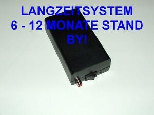 Langzeit Alarmanlage GB-Uni 1 - GSM Alarm Modul m. Anruf - GSM Wählgerät System