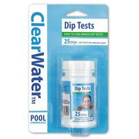 Bestway Dip Test Strips for Chlorine, pH and Alkalinity 25 Easy to Use Strips