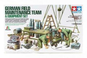 Tamiya 1/35 scale WW2 German Field Workshop diorama accessory kit
