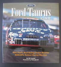 FORD TAURUS IN NASCAR HARD COVER BOOK BY BILL CENTER NEW 132 PAGES