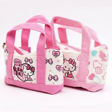 Sanrio Hello Kitty Character Canvas Pouch Cosmetic Makeup Case Bag Children Toy