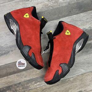 Nike Air Jordan 14 Retro Challenge Red 654459-670 Size 9.5