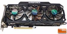Gigabyte GTX 760 GDDR5- 2xDVI/HDMI/DP OC WINDFORCE 3X Graphic Card GV-N760OC-2GD