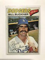 1977 Topps #27 Bill Buckner G-VG Condition