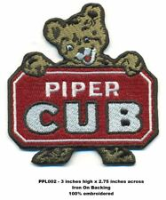 PIPER CUB AIRCRAFT PATCH -PPL002