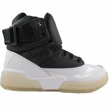 Patrick Ewing Athletics Men's 33 Hi Black/White/Ice Athletic Basketball Shoes