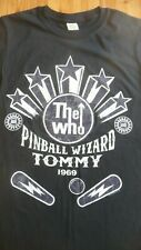 THE WHO - TOMMY, Pinball Wizard T-Shirt Size Med.Rock,Mod,Kinks,The Jam,Beatles