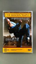 The Shaolin Temple - DVD R4 Cult Martial Arts Jet Li RARE NEW SEALED