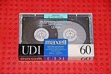 MAXELL UD  I  60    VS. VII          BLANK  CASSETTE  TAPE  (1)  (SEALED )