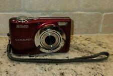 Nikon Coolpix L24 14MP Digital Camera w/3.6x Zoom Red