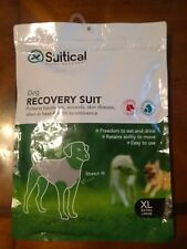 New listing Suitical Recovery Suit for Dogs - Black Xl Protects bandages wounds skin