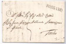 Prefilatelica prephilatelic 1838 da Fossano per Torino