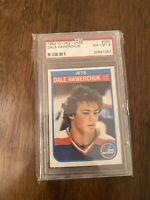 Dale Hawerchuk 1982-83 O-Pee-Chee OPC Rookie Card PSA 8 Winnipeg Jets #380 NM-MT