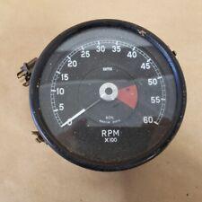 Jaguar XKE E-Type 4.2 1969-70 Original Tachometer RPM Gauge Smiths RVI4614/01