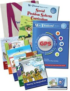 We Thinkers! Volume 2 Social Problem Solvers Deluxe Package