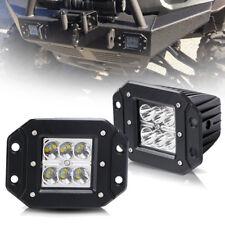 Can-Am Defender HD8/HD10 Front Bumper Flush Mount 2Pcs 3inch LED Cube Light Bar