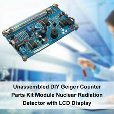 Unassembled Lcd Diy Geiger Counter Parts Kit Module Nuclear Radiation Meter S6a8